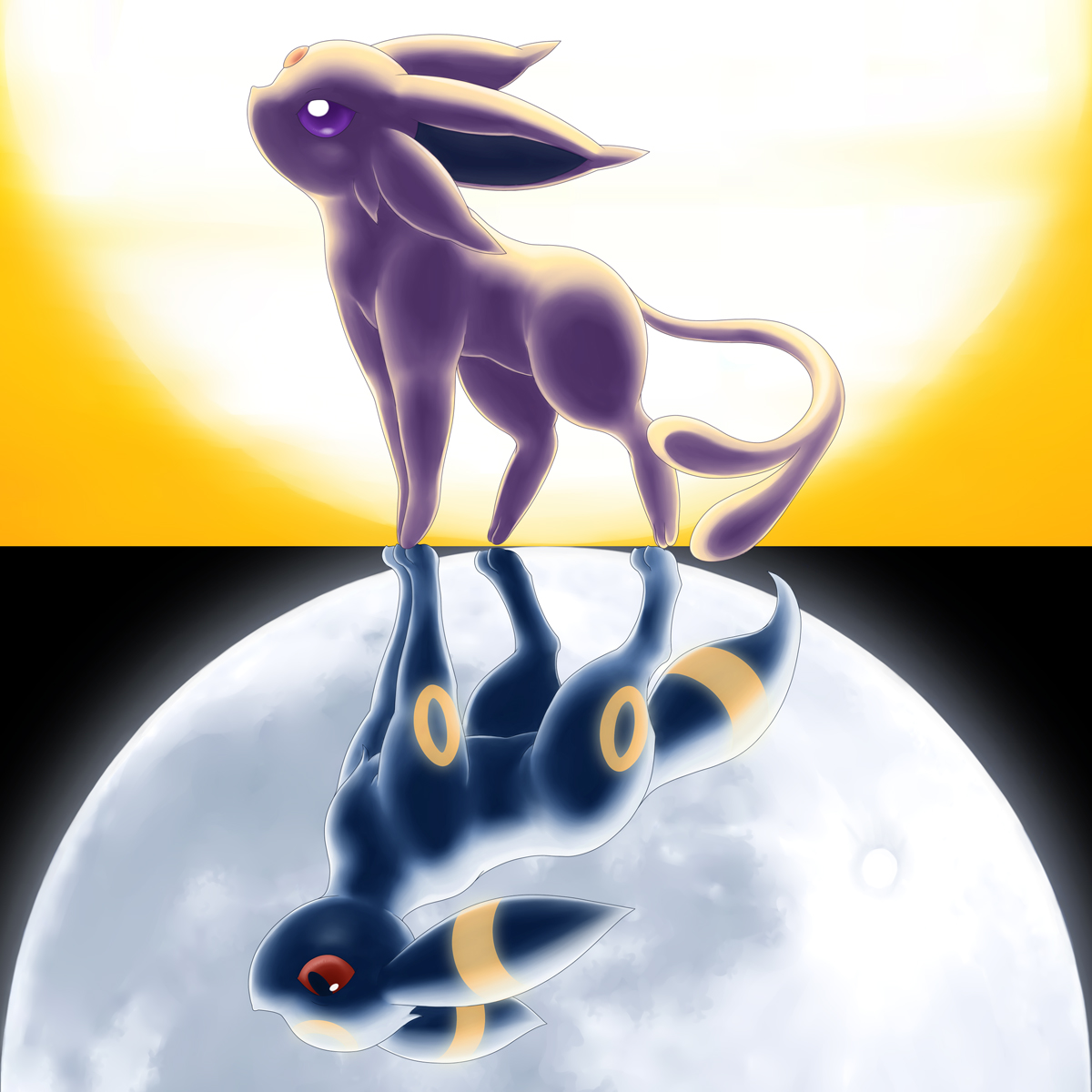 umbreon and espeon hd - photo #2